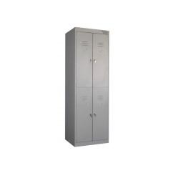 Металлические шкафы для одежды двухдверные ШРК-24