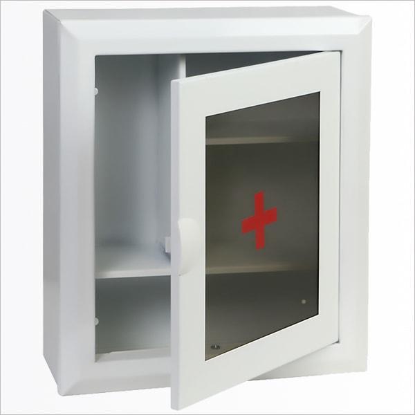 Аптечка №1 со стеклом защелка