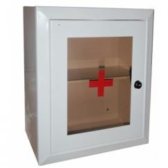 Аптечка №2 со стеклом и замком