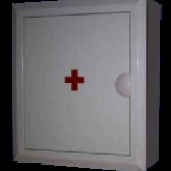 Аптечка №1 без стекла защелка