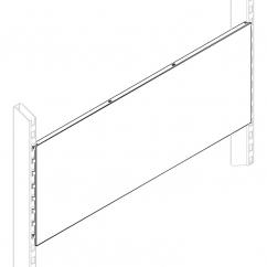 Панель стеновая с перфорацией 0,5 м