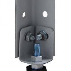 Подпятник СТФ металлический регулируемый (2 комплекта крепежа)