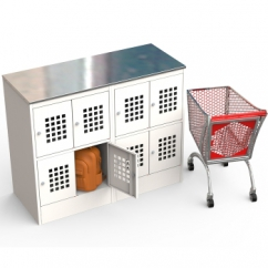 Шкафы для сумок и ручной клади ШМ-С24-30