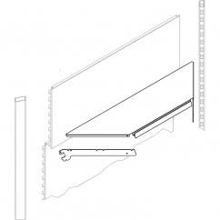 Панель стеновая угла