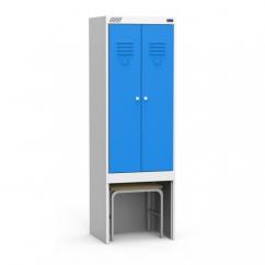 Шкаф для одежды ШРЭК 22-530-М1.1 ВСК собранный