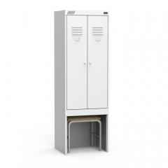 Шкаф для одежды ШРК(1850) 22-800-М1.1 ВСК собранный